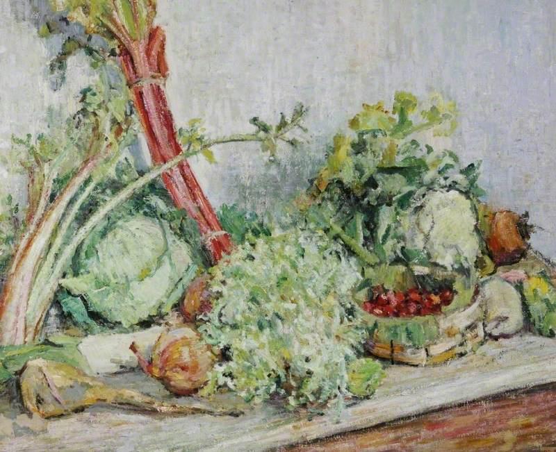 Still Life, Vegetables