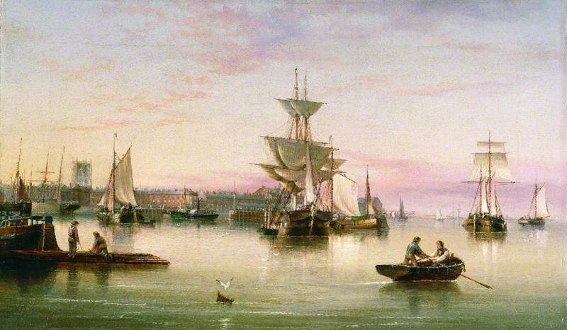 Hull from the Humber