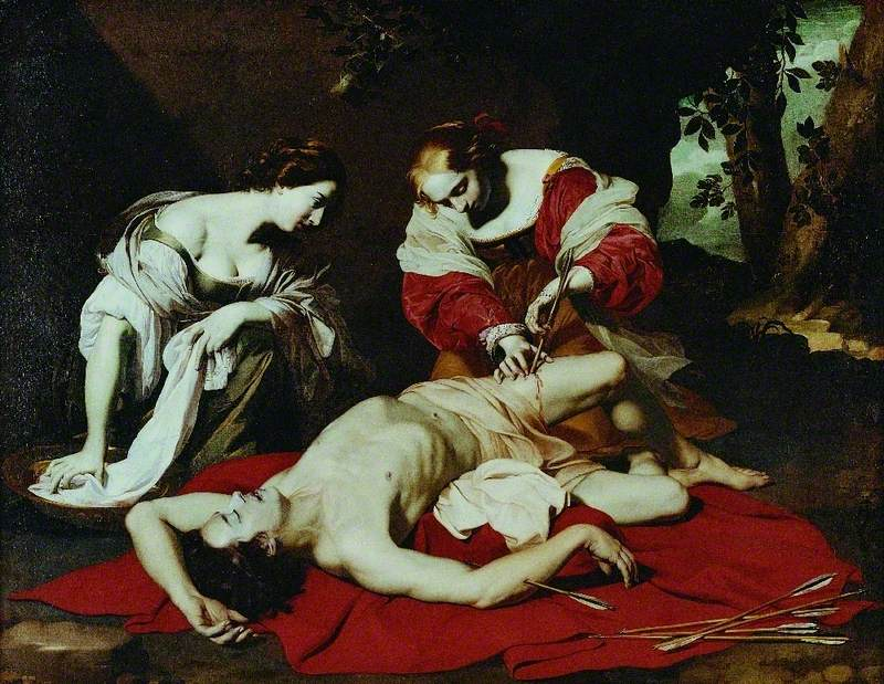 Saint Sebastian Tended by the Holy Irene