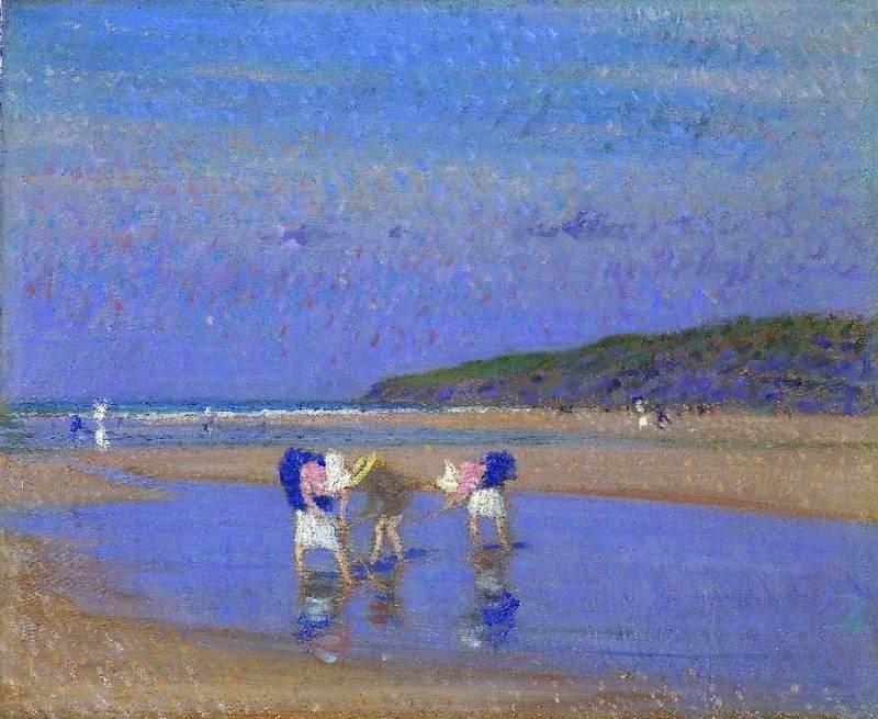Boulogne Sands (Children Shrimping)