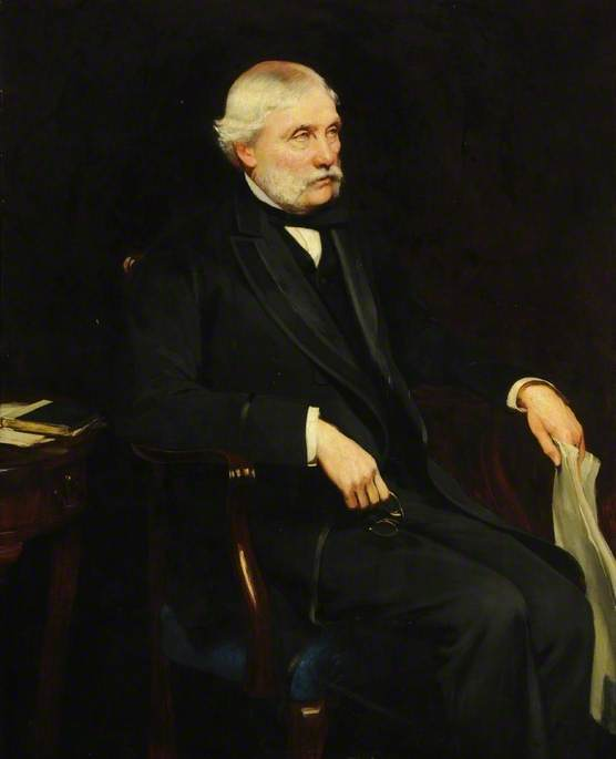 David Wilson, Esq. (1815–1893), JP, Member of the Board of Management at Hull Royal Infirmary