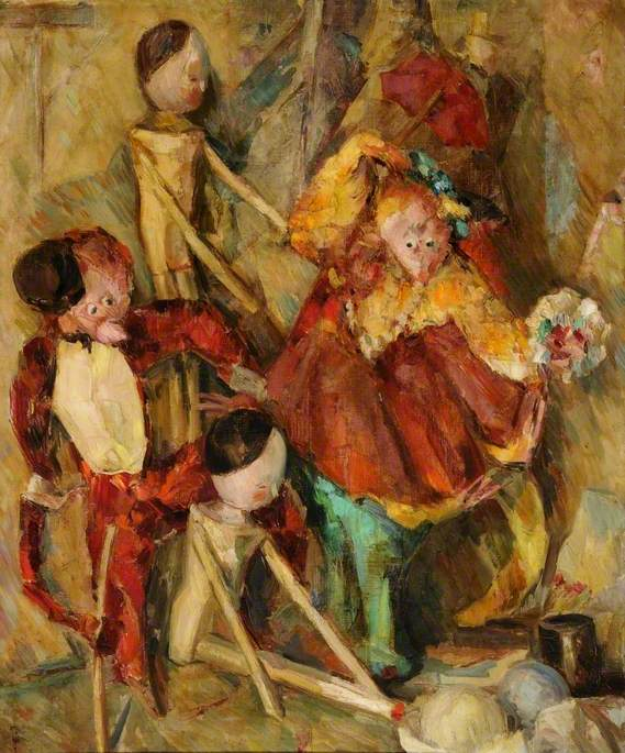 Dutch Dolls and Puppets