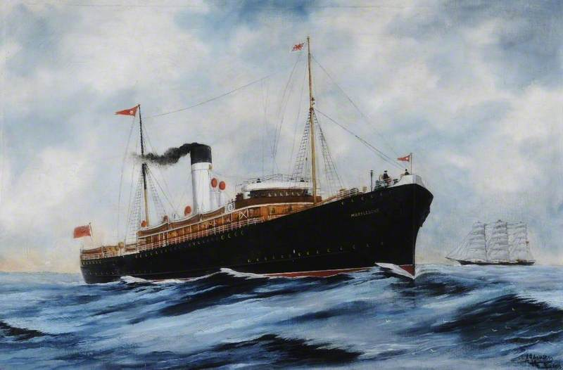 SS 'Marylebone' (Railway Steamer)