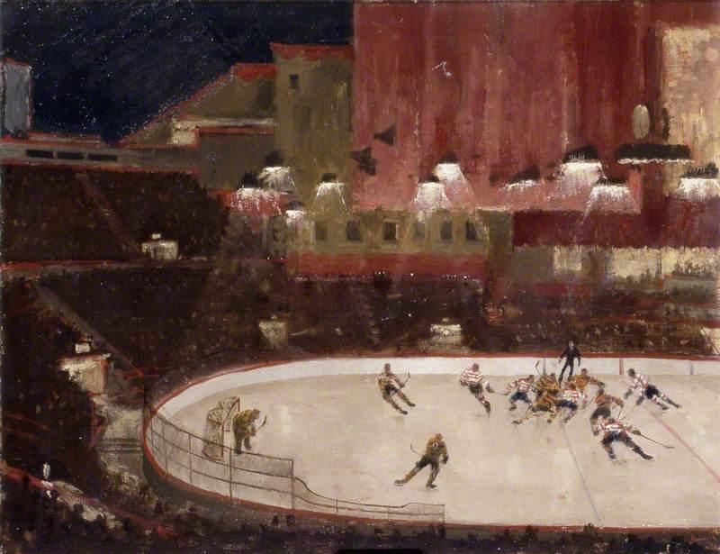 Ice Hockey at the Empress Hall