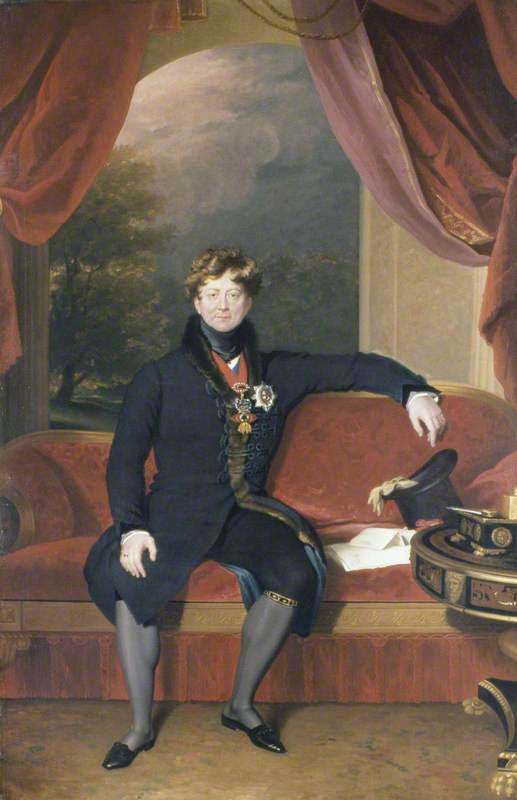 George IV (1762–1830), Seated, in Morning Dress