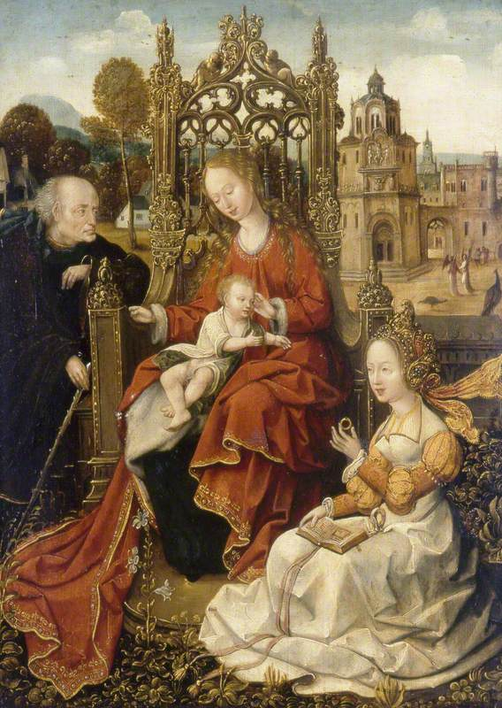 The Mystic Marriage of Saint Catherine of Alexandria