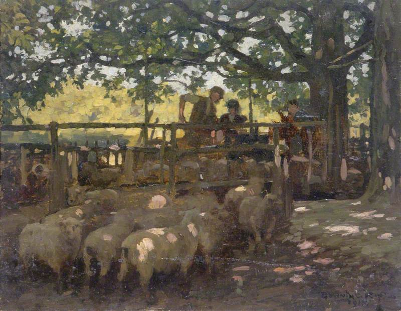 Sheep and Farm Workers