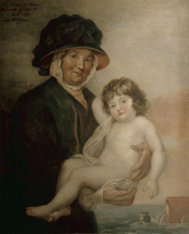 Martha Gunn and the Prince of Wales