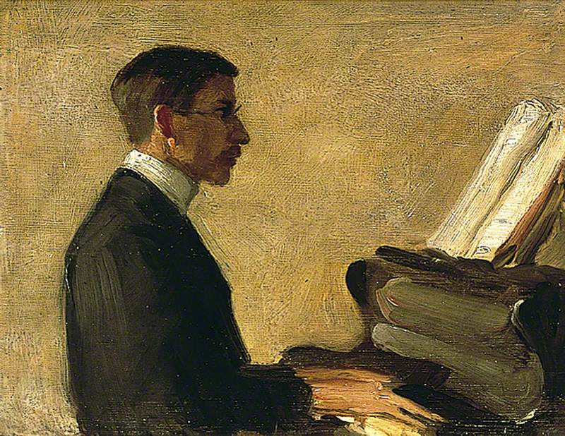 Saxon Sydney-Turner at the Piano