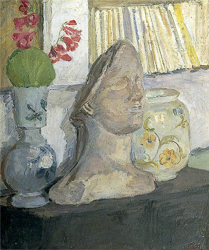 Still Life with a Plaster Head