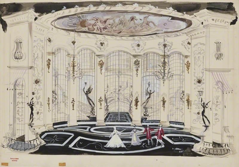 Set Design for 'Der Rosenkavalier'