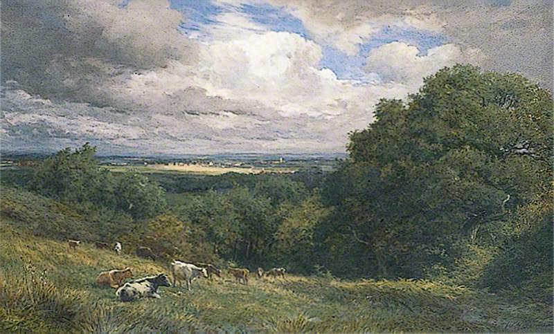 Hastings, East Sussex, Looking towards Westfield