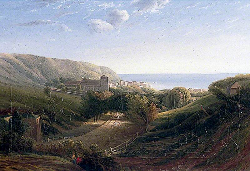 Hastings, East Sussex, from the London Road