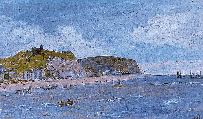 Hastings, East Sussex, from the Sea