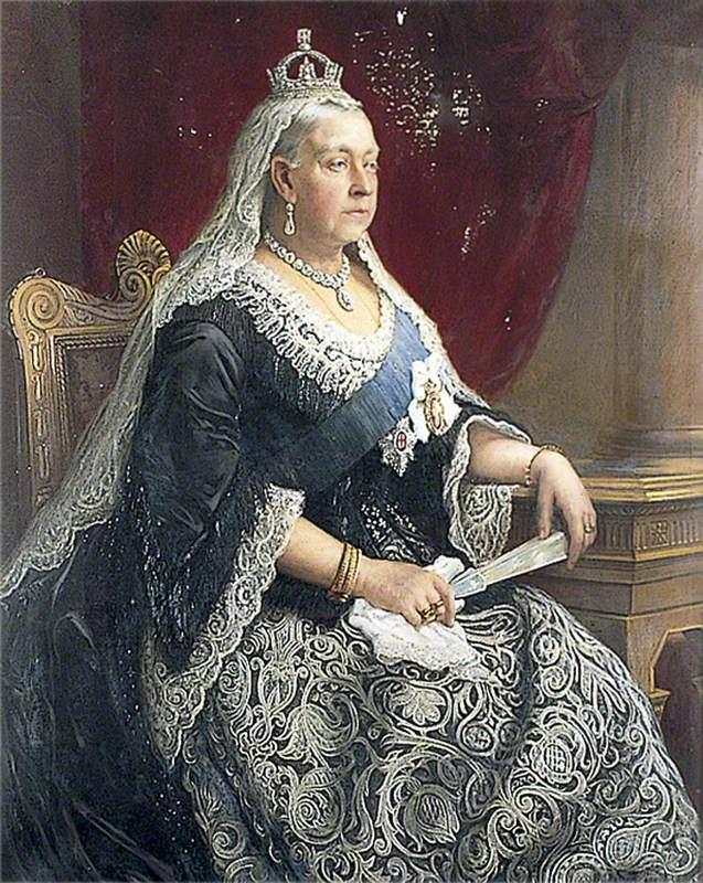 Golden Jubilee Portrait of Queen Victoria