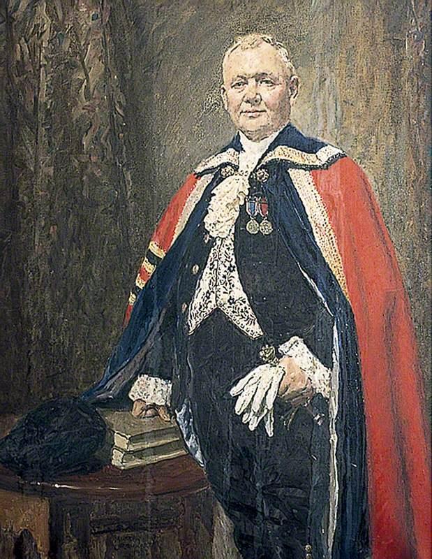 Alderman Arthur Blackman