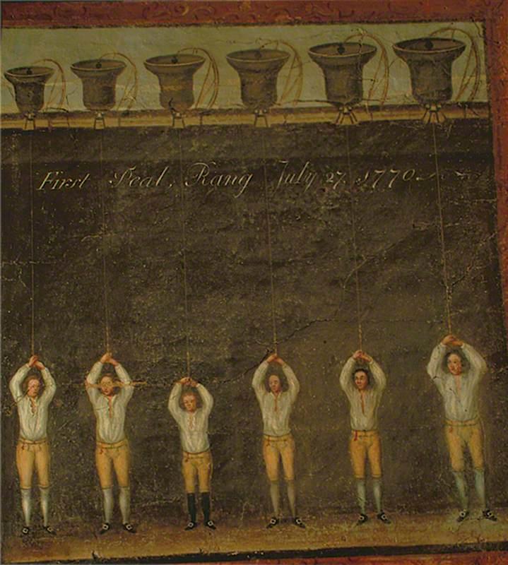 First Peal, Rang July 27, 1770