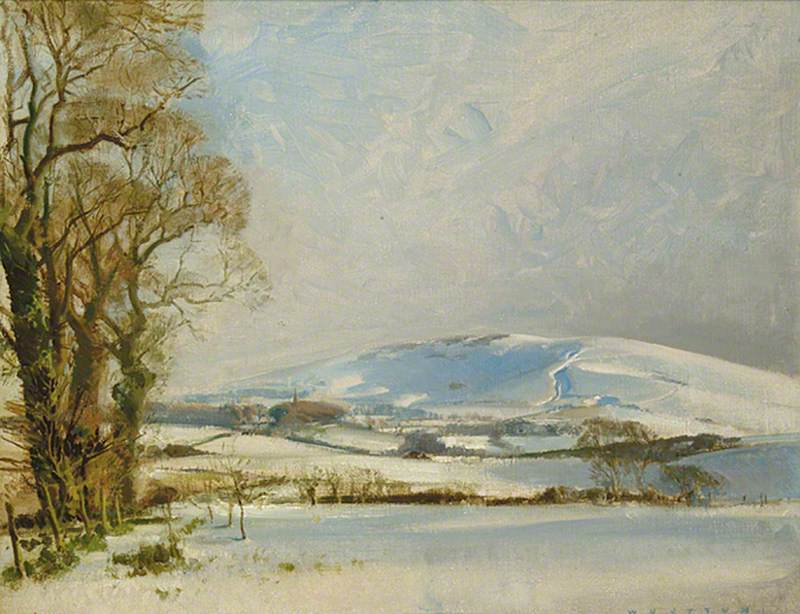Windover in Winter, Alciston, East Sussex, January