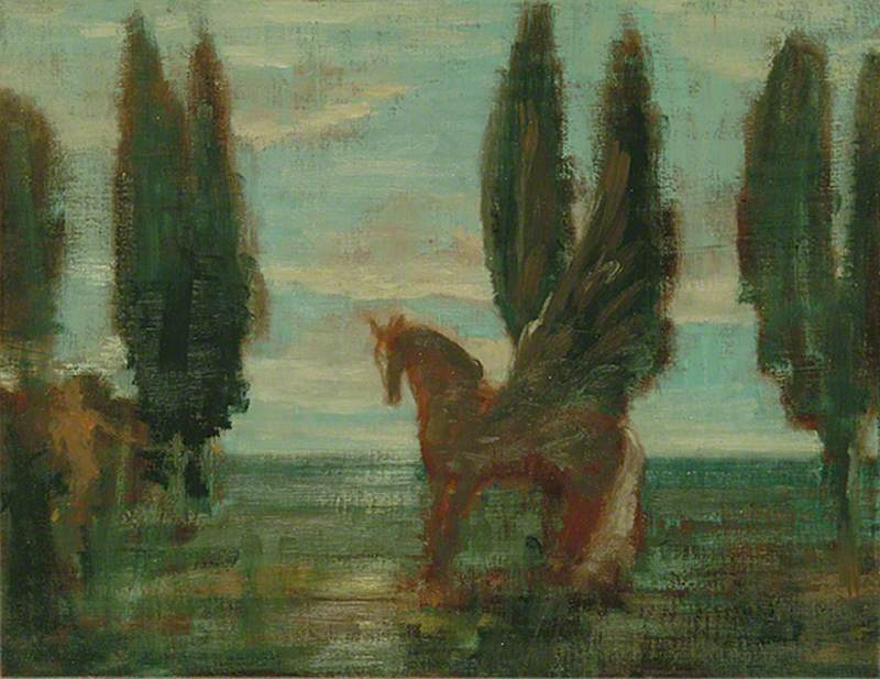 Painting, February 1982