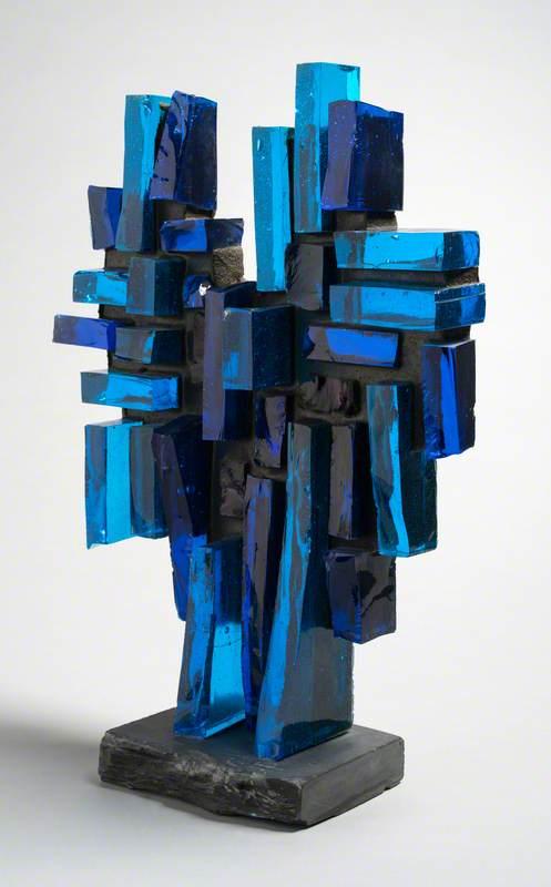 Blue Verticals