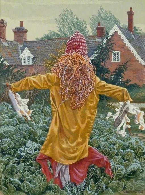 Suffolk Scarecrow