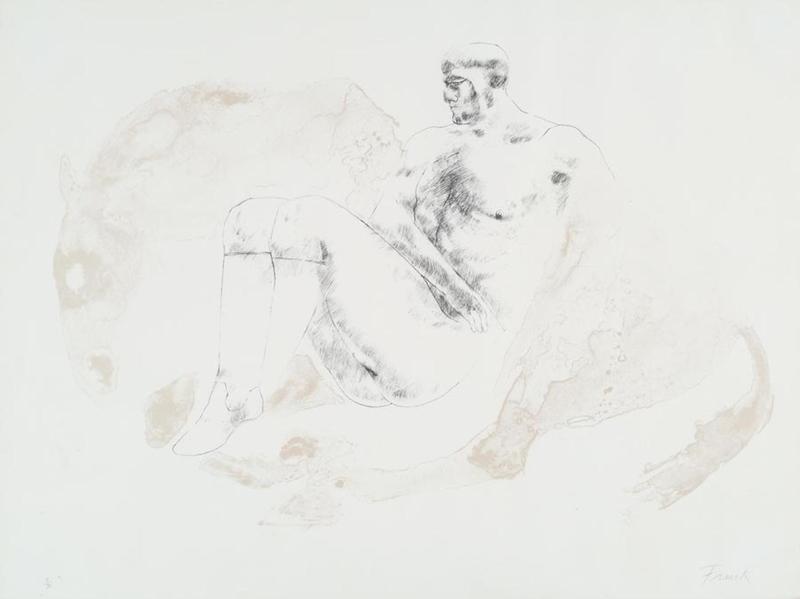 Man and Horse II