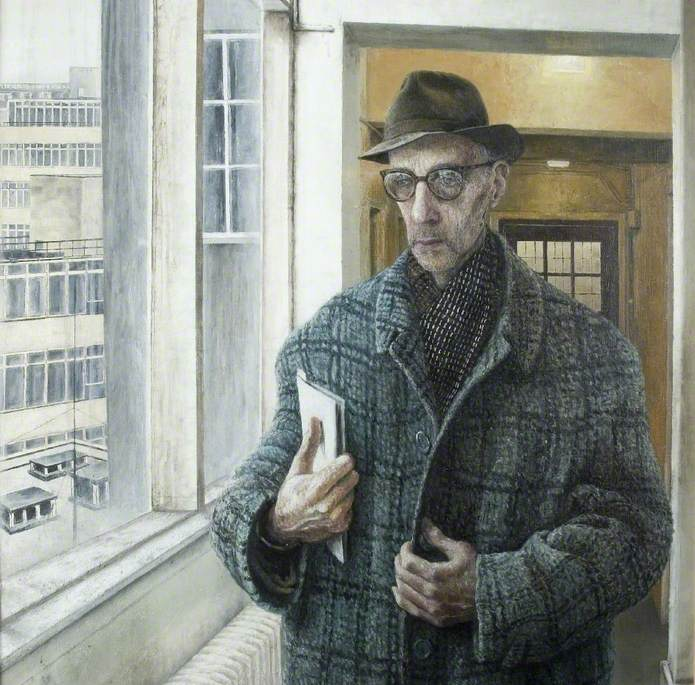 Cecil Collins at the Central School of Art, London