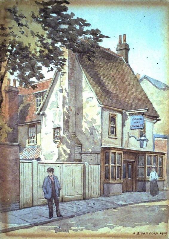 'The Coach and Horses', Duke Street
