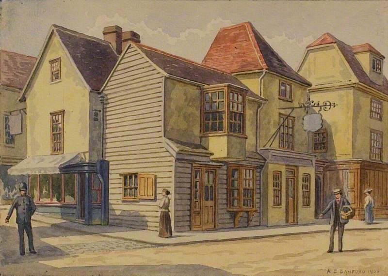 'Half Moon' Inn, Chelmsford