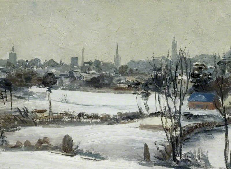 Colchester in Winter