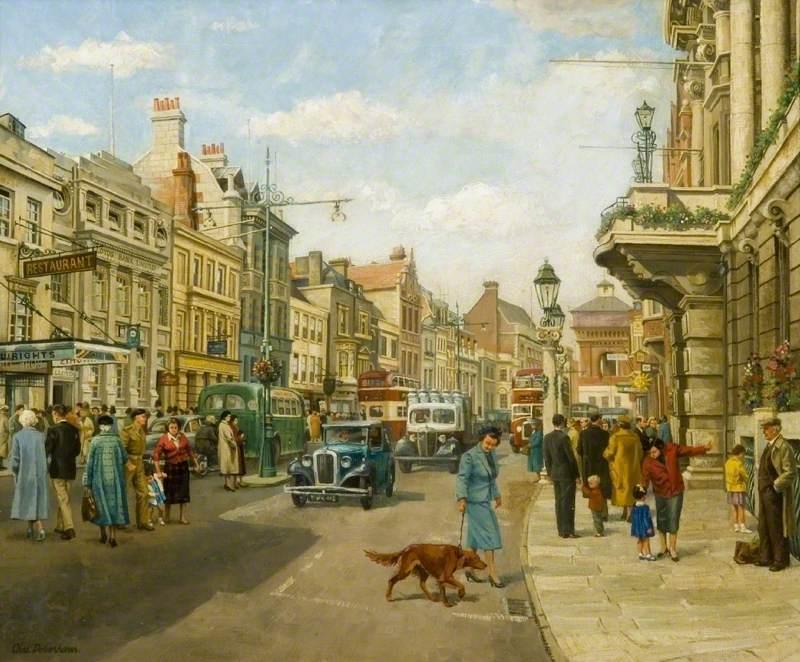 High Street, Colchester, 1950
