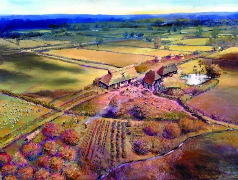 Medieval Farmstead at Stebbingford