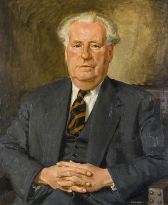 Charles Edward Leatherland, OBE, JP, DL