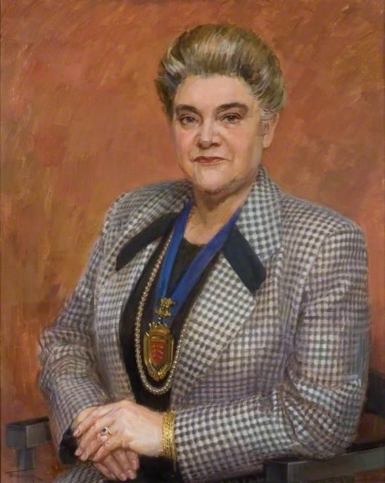 Councillor Mrs Kathleen Nolan, DL, Chairman (1992–1993)