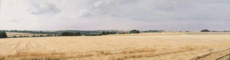Last Summer, Duton Hill and Tilty, the Chelmer Valley, from Great Easton