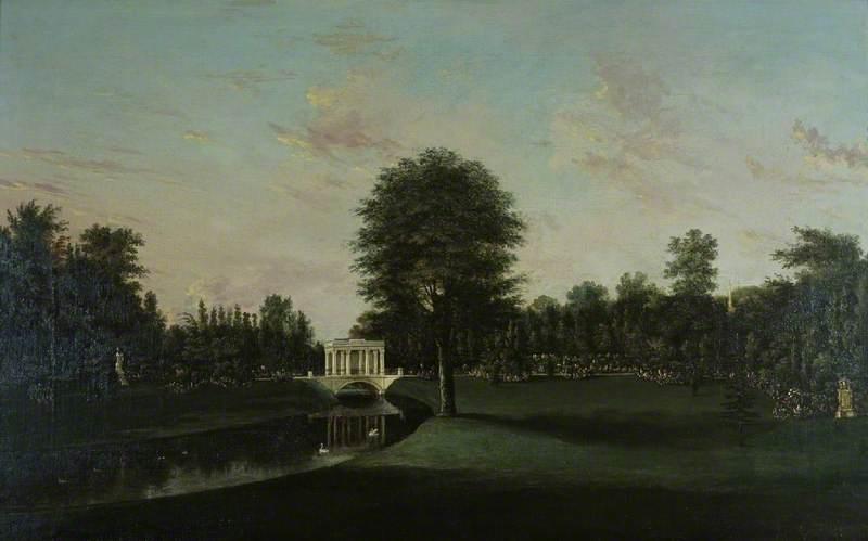 Audley End, the Tea House Bridge