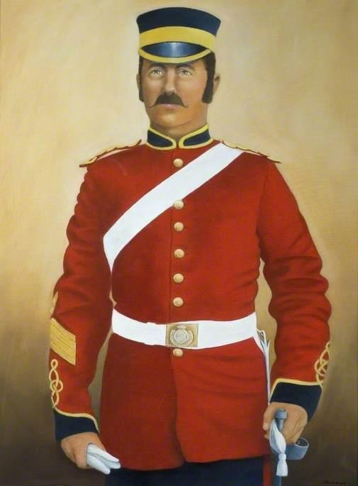 Samuel Dougal in Staff Sergeant's Military Dress