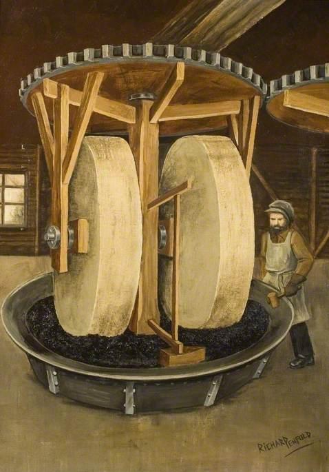 Gunpowder Incorporating Mill, c.1780