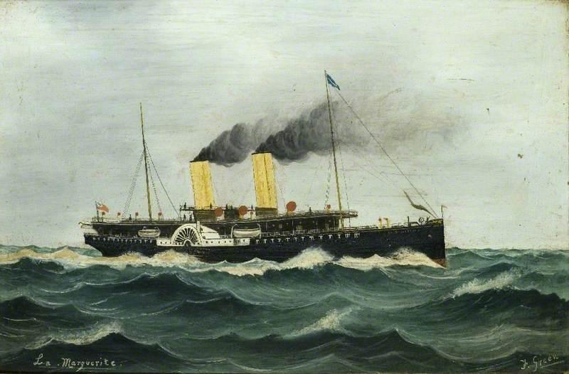 Paddle Steamer 'La Marguerite'