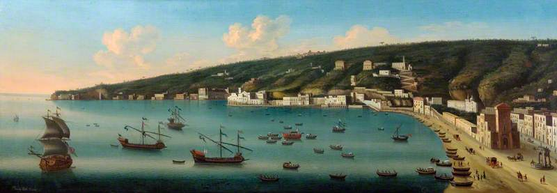 View of Naples and Posillipo
