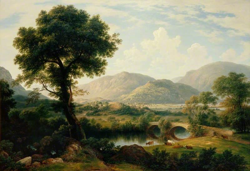 Ullswater with Goldrill Bridge