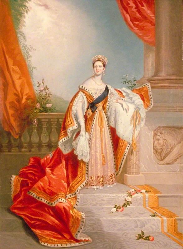 Queen Victoria (1819–1901), in Coronation Robes