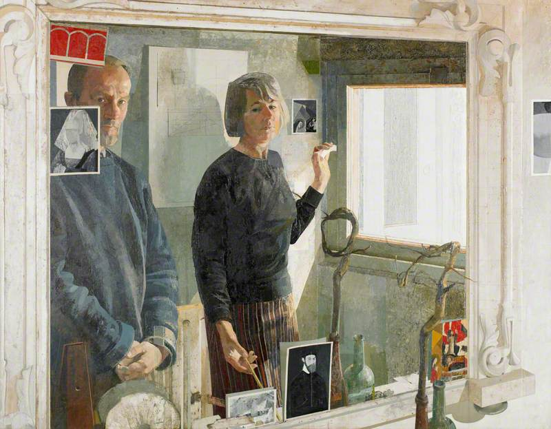 In the Cellar Mirror