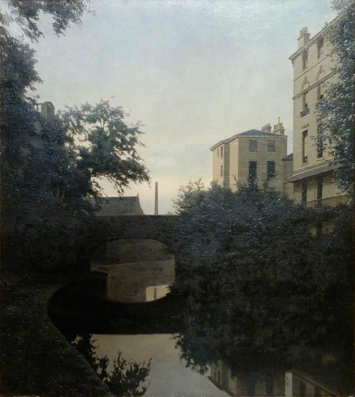 The Regent's Canal, Twilight