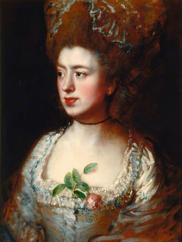 Mary Gainsborough (1749–1826), Daughter of the Artist