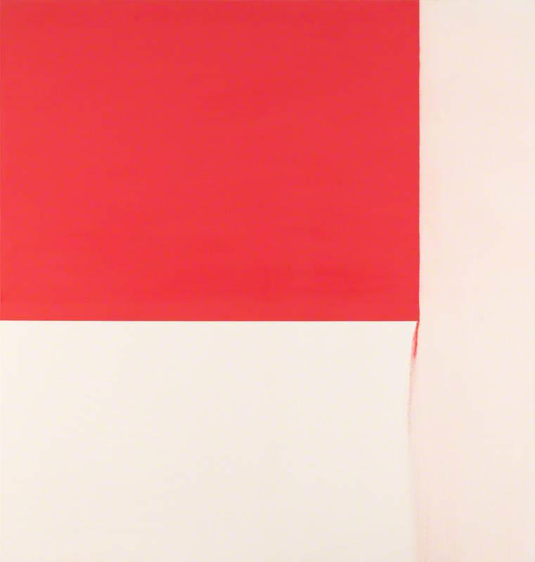 Exposed Painting, Cadmium Red Deep