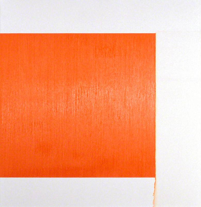 Exposed Painting, Cadmium Red Pale,Orange