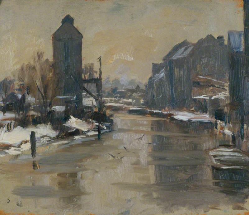The Frozen River, Norwich