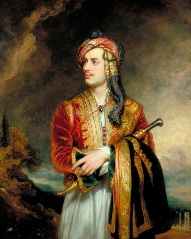 George Gordon Byron (1788–1824), 6th Baron Byron, Poet