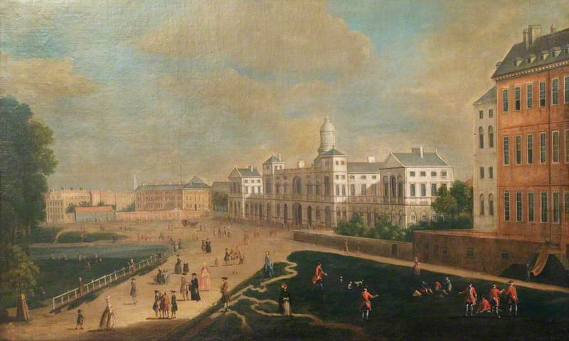 View of Whitehall, New Horse Guards